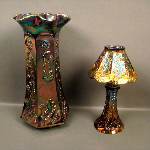 Burns Auction Service Specializing In Carnival Glass Vintage Glassware And Other Fine Antiques